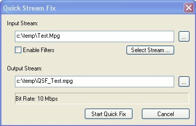 QuickstreamFix