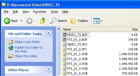 Folder All Video Files